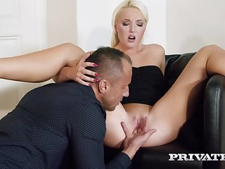 Platinum blonde lady, Lovita Fate likes to dear one with her married neighbor, quite often