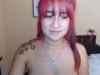 Redhead amateur webcam show