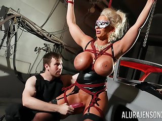 Busty cougar loves being dominated in BDSM hardcore