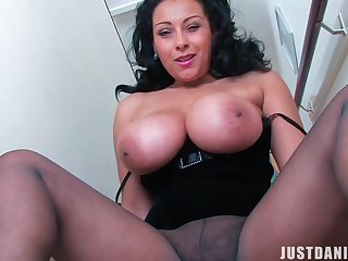 Hot Milf Joi.. Rejoice - Big breast and pantyhose fetish