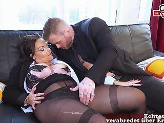 German big boobs business milf at romantic date