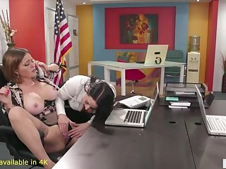 Angela tries out Battlefield Abella Danger and Krissy!