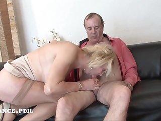 Amateur Senior Couple First Porn Video