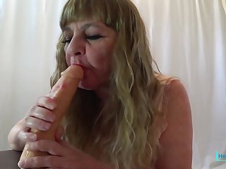 JOI Big Cum Squirt For Me - CougarBabeJolee