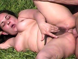 bbw mom extreme resemble public anal fucked