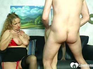 Mart mistress teaches a hottie how alongside please