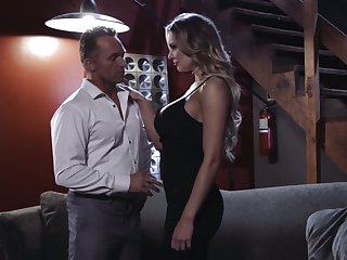 Zealous Kenzie Taylor feels right about topping her stud this night