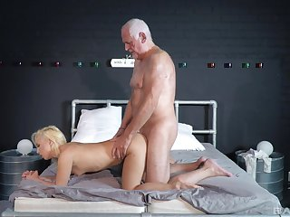 Striptease and passionate sexual relations the greatest an older guy and Daisy Dawkins