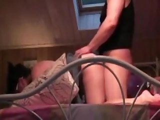 Full-grown amateur woman licked, fingered and fucked