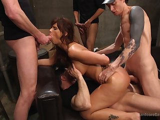 Gangbang down strangers is place emphasis on that Syren De Mer can't forget