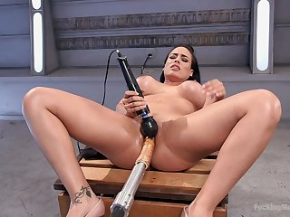 Fucking gadget extreme orgasms be required of the big ass wife