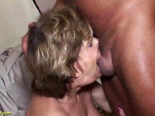 tasteless grandma deepthroat anal fucked